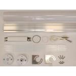 Kit for assembling a linear lamp BPS Light Line PRO 150