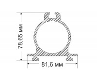 CONSOLE-2 78,65x81,6 mm, 3,403 kg / p.m.
