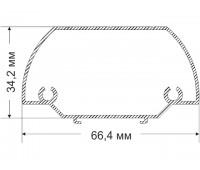 KURMA 34,2х66,4 мм, 0,631 kg / lm