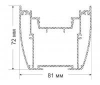 SARMA 72х81 mm 2,098 kg / m