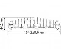 Selenga 44.2x184.2 mm, 4.76 kg / p.m.