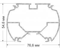 Slyudyanka 54,6х76,6 mm 1,305 kg / m