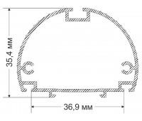 Utulik 35,4h36,9 mm 0.569 kg / lm