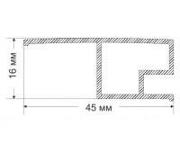 Ruchey-1 16x45 mm, 0.385 kg / meter.m