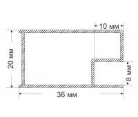 Ruchey-3 20x36 mm, 0.317 kg / meter.m