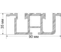 MEJOVIY-2 35x90 mm, 2,383 kg / lm